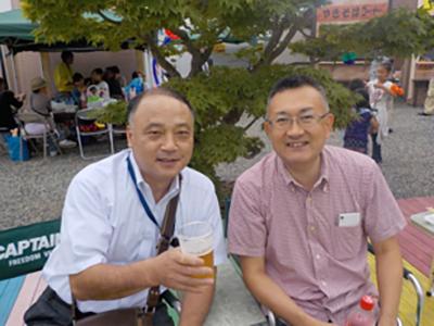 (写真は2015年9月に施工した藤井建業様のイベントです)